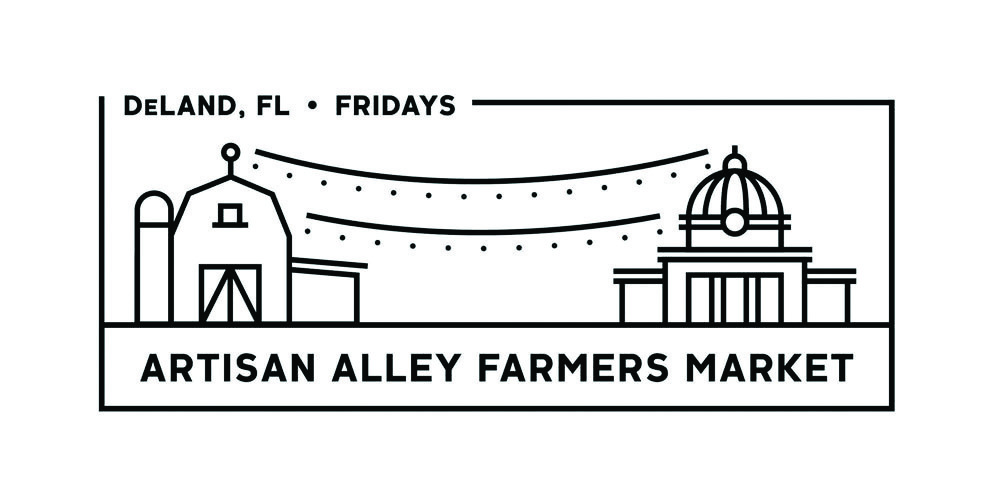 artisan alley growers and makers market logo