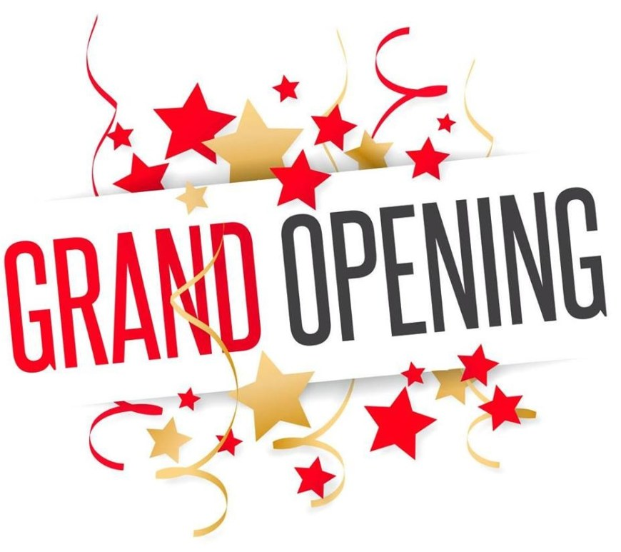 grand opening celebration graphic