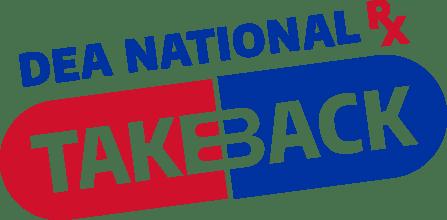 DEA national prescription drug take back logo