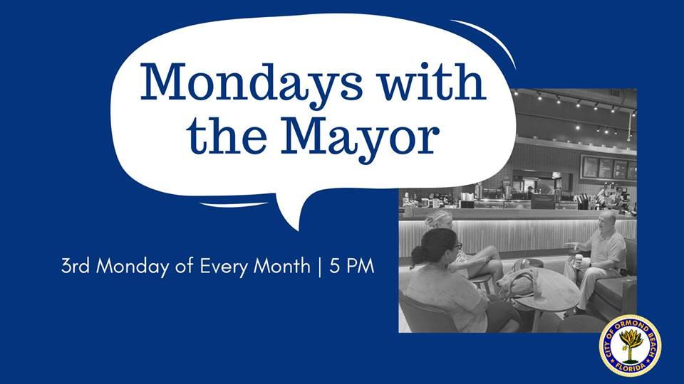 Mondays with the Mayor Ormond Beach program
