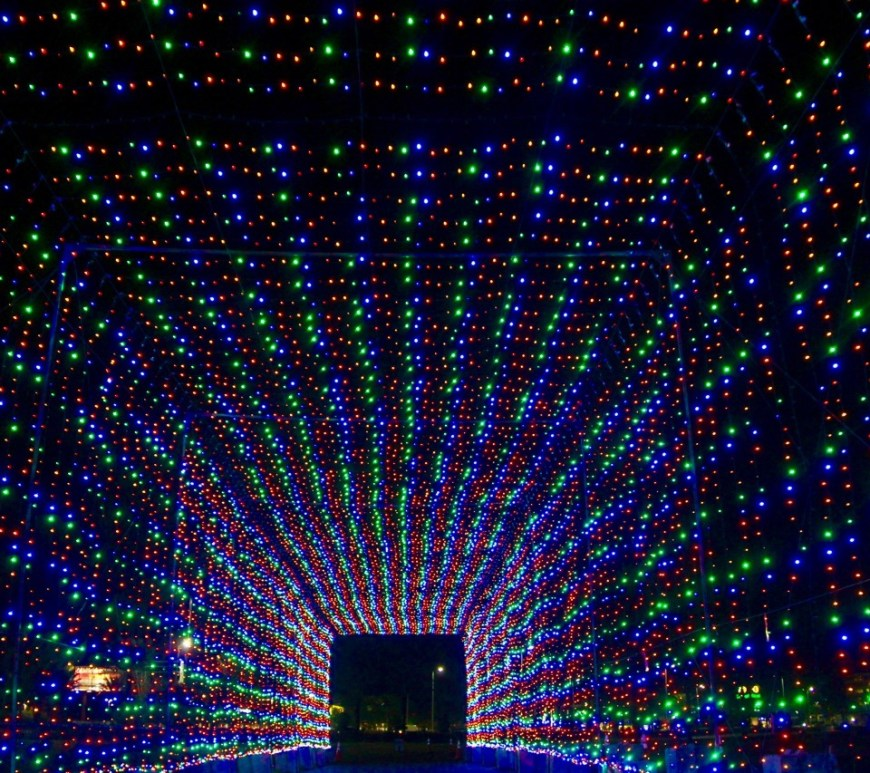 magic of lights tunnel
