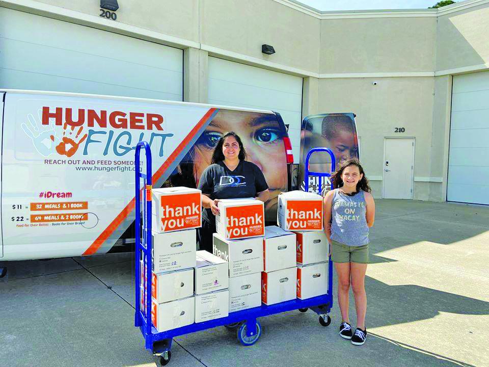 united way hunger fight food drive Daytona Beach