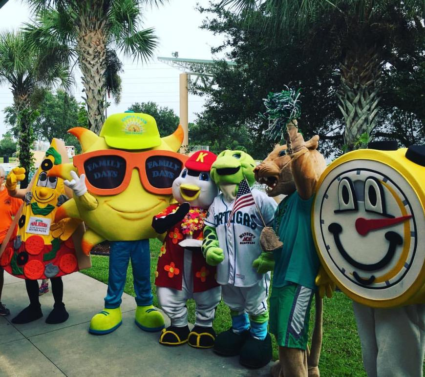 port orange family days and community mascots