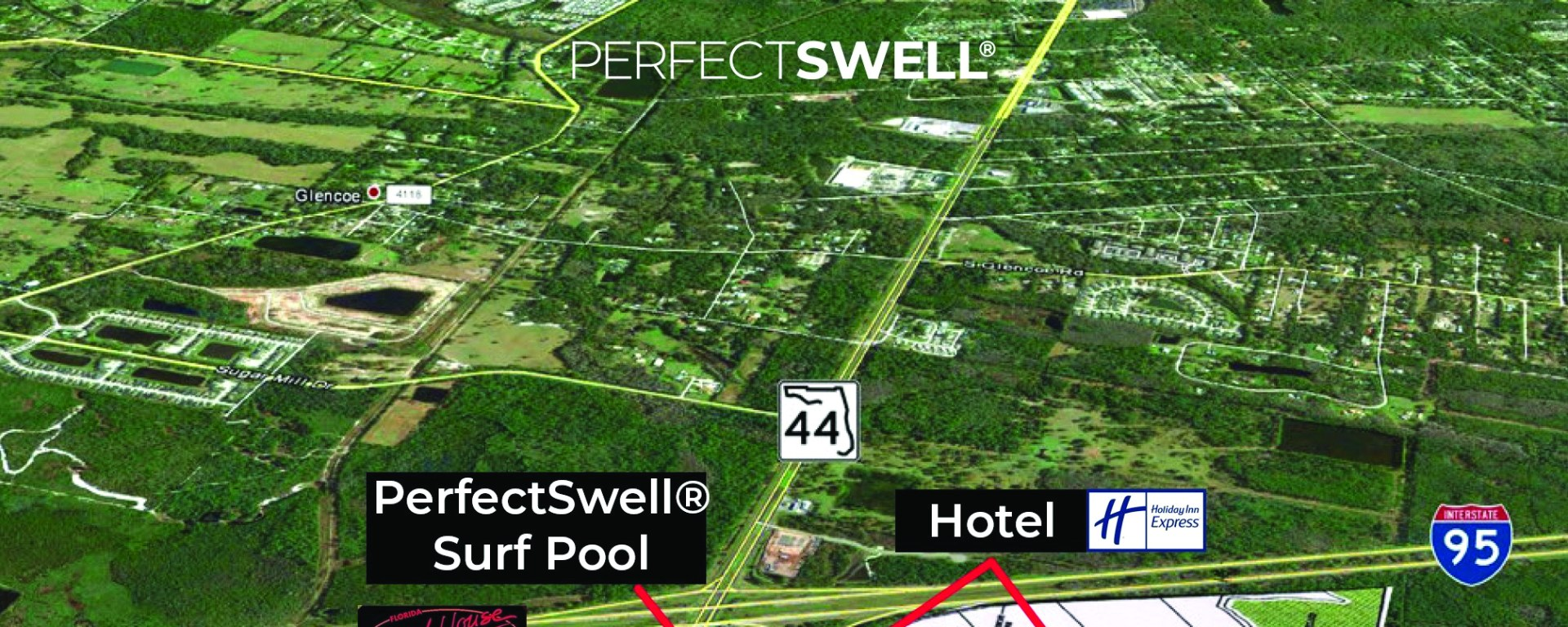 PerfectSwell map site in new smyrna beach
