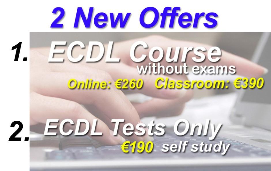 ecdl offers
