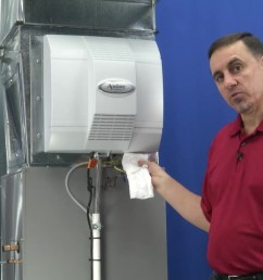 video home aprilaire power humidifier troubleshooting water not running [ 1280 x 720 Pixel ]