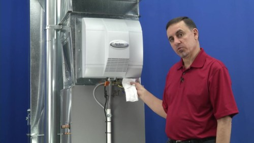 small resolution of video home aprilaire power humidifier troubleshooting water not running