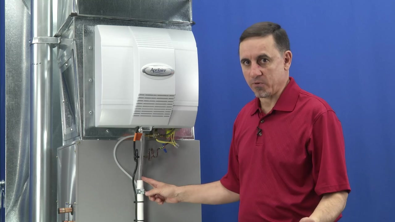 hight resolution of video home aprilaire power humidifier troubleshooting water leaking