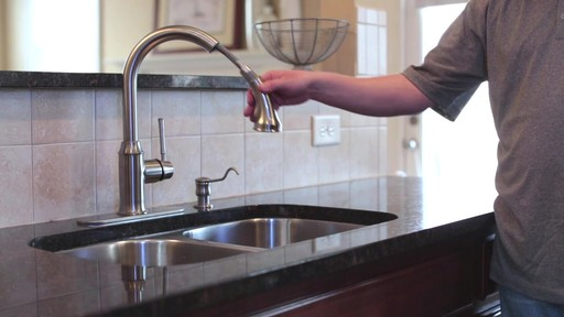 hansgrohe talis c kitchen faucet grey modern cabinets installation video gallery