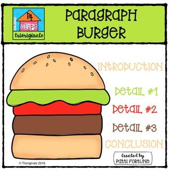 Paragraph Burger P4 Clips Trioriginals Digital Clip Art