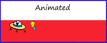 Animated Google Classroom Headers (Aliens) for Distance Learning