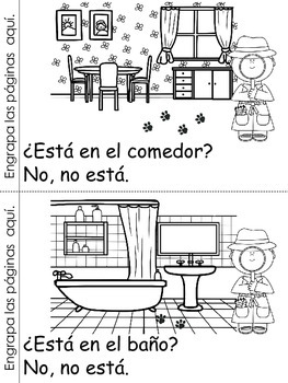 ¿Dónde está Max? Spanish Emergent Reader by Bilingual