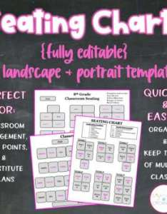 Editable seating charts classroom management organization dojo sub plans also rh teacherspayteachers
