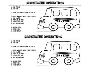 Subordinating Conjunctions for Interactive Student