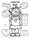 Character Traits Graphic Organizer Teaching Resources