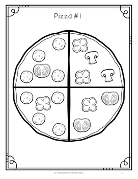{FREEBIE} Pizza Fractions Activity Packet by Teaching in a