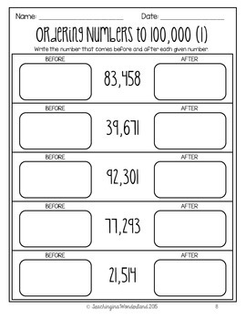 {Grade 5} Math Skills Review Packet by Teaching in a