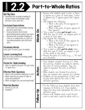 {Grade 7} Unit 2: Ratios & Percents by