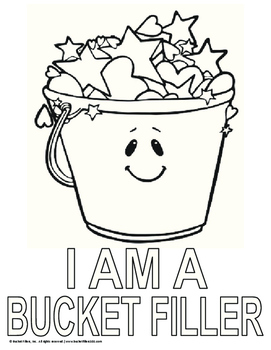 Comfortable How Full Is Your Bucket Activity By Amy Lemons
