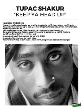 Tupac Keep Your Head Up Lyric : tupac, lyric, Tupac, Close, Reading, (Distance, Learning), Classroom, Clapback