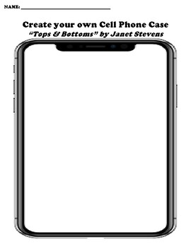 """Tops & Bottoms"" by Janet Stevens Worksheet Packet (4"