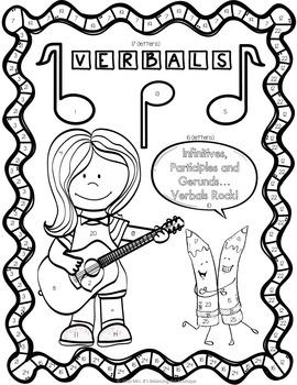 Verbals Grammar Practice: Participles, Gerunds
