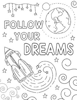 Outer Space Coloring Pages Adult Sketch Coloring Page