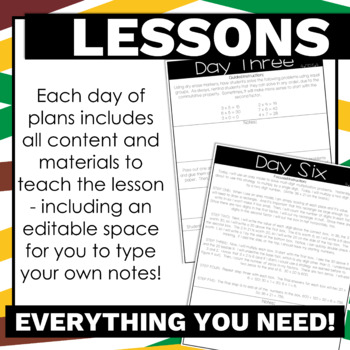 4th Grade Math Lesson Plans Multiplication Guided Release