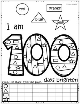 100 DAYS OF SCHOOL IN ENGLISH AND SPANISH BUNDLE by