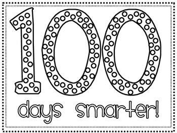 100 Days Smarter Hat/ Printable {FREEBIE} by Hannah Martin