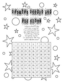 100th Day & 120th Day Number Scavenger Hunt by Stacy