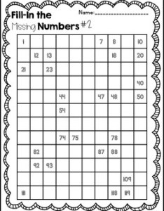 chart fill in puzzle fun also by the real world first grade tpt rh teacherspayteachers