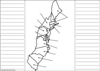 13 Colonies Activity (Colonial America Interactive