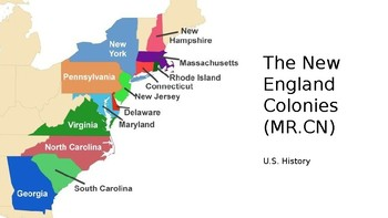 13 Colonies Part I: The New England Colonies by Kinder Hasher TpT