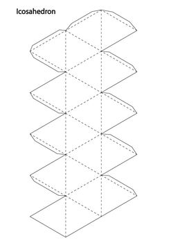 15 Print and Fold Geometric Shapes / Nets by Z is for