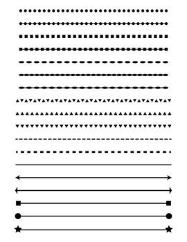 Line Divider Png : divider, Simple, Shape, Divider, Divider,, Header