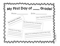 First Day At School Worksheets - Livinghealthybulletin