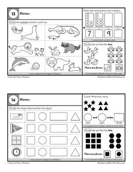 1st Grade Homework • Spiral Review Math and ELA Homework