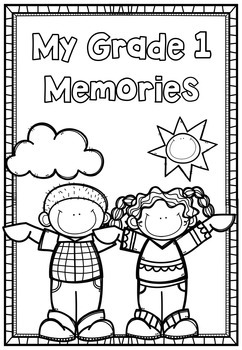 1st Grade End Of Year 40 page Memory Book by Rachel O