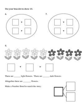 1st Grade Eureka Math Module 1 A-C Assessment by Sarah