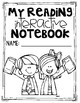 1st Grade Interactive Reading Journal Notebook CCSS