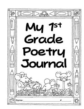 1st Grade Poetry Journal-correlates with Treasures