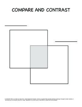 venn diagram graphic organizer 240sx alternator wiring 2 square and lesson plan by fun to