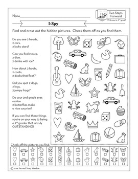 Back to School 2nd Grade Work Packet • First Week of