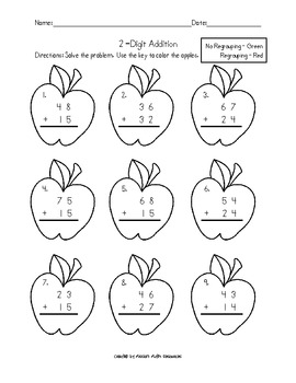 2-digit Addition & Subtraction with and without regrouping