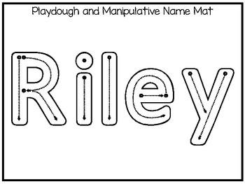 20 No Prep Riley Name Tracing and Activities. Non-editable
