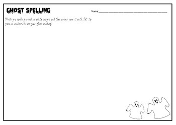 20 No Prep Spelling worksheets for word work by Play Learn