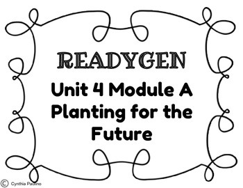 2014-2015 ReadyGen Unit 4 Module A Concept Board by Miss P