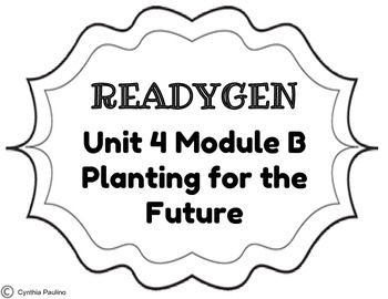 2014-2015 ReadyGen Unit 4 Module B Concept Board by Miss P