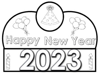 2019 Happy New Year Crowns (Free Yearly Updates) by Kinder